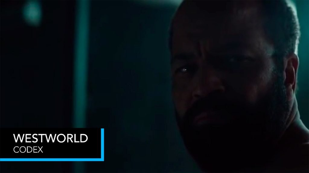 West World season  2 finale theme 1 Man looking at the camera